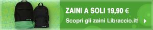 Zaini Libraccio.it a 19,90 ?