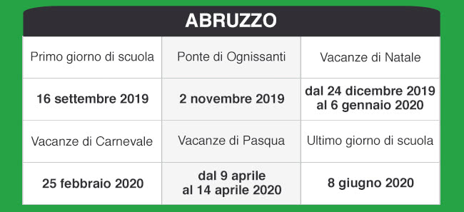 Calendario Scolastico Umbria 2020.Libraccio It Calendario Scolastico 2019 2020