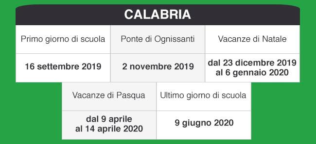 Calendario Vacanze Scolastiche 2020 Veneto.Libraccio It Calendario Scolastico 2019 2020