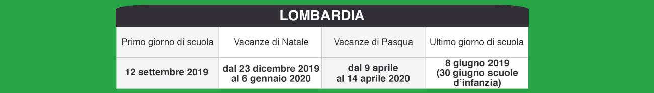 Calendario Scolastico 2020 Lombardia.Libraccio It Calendario Scolastico 2019 2020