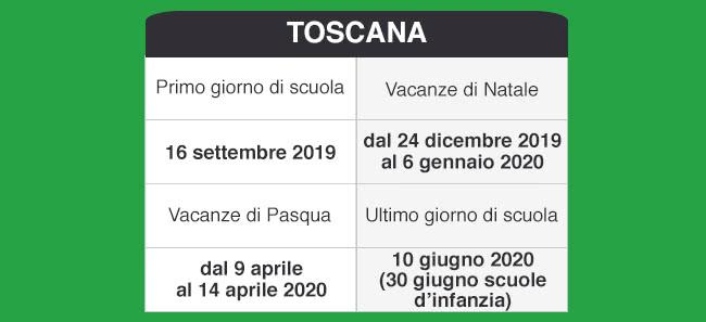 Calendario Scolastico 2020 Toscana.Libraccio It Calendario Scolastico 2019 2020
