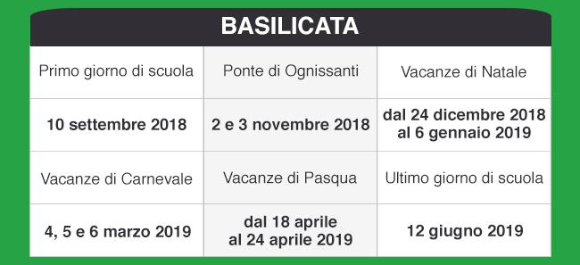 Calendario Scolastico 2020 20 Emilia Romagna.Libraccio It Calendario Scolastico 2018 2019